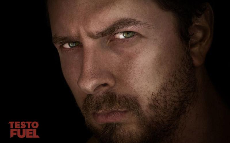 alpha male eye contact power