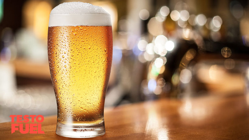 Pint of Beer Reduces Testosterone