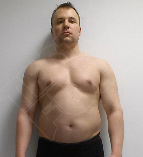 Gergo before using TestoFuel