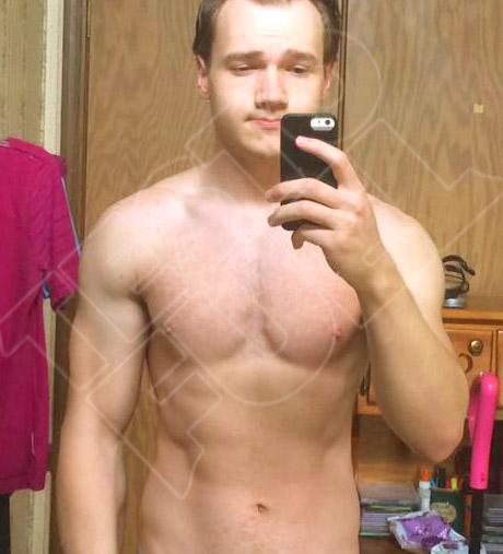 Nick after using TestoFuel