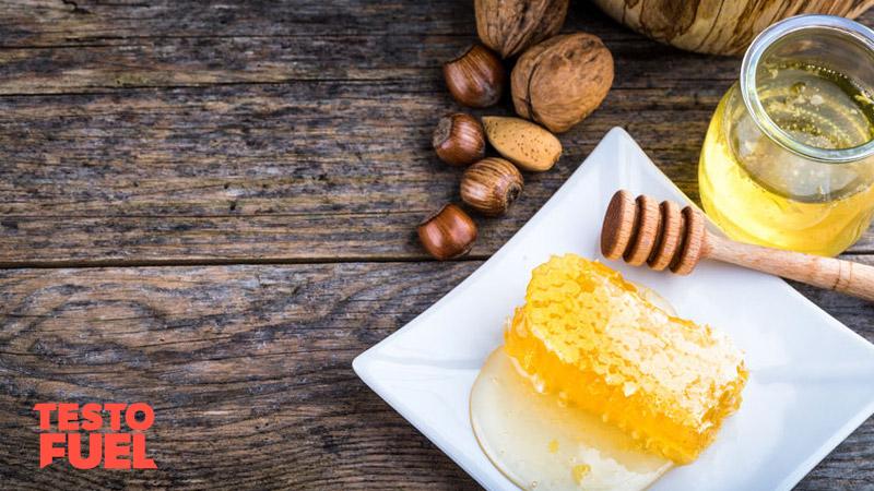 Chrysin in honey