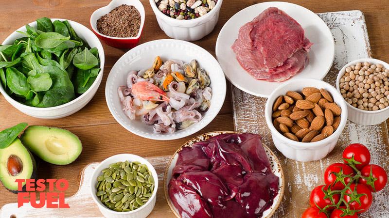 Zinc benefits for men testofuel blog for Cuisine zinc