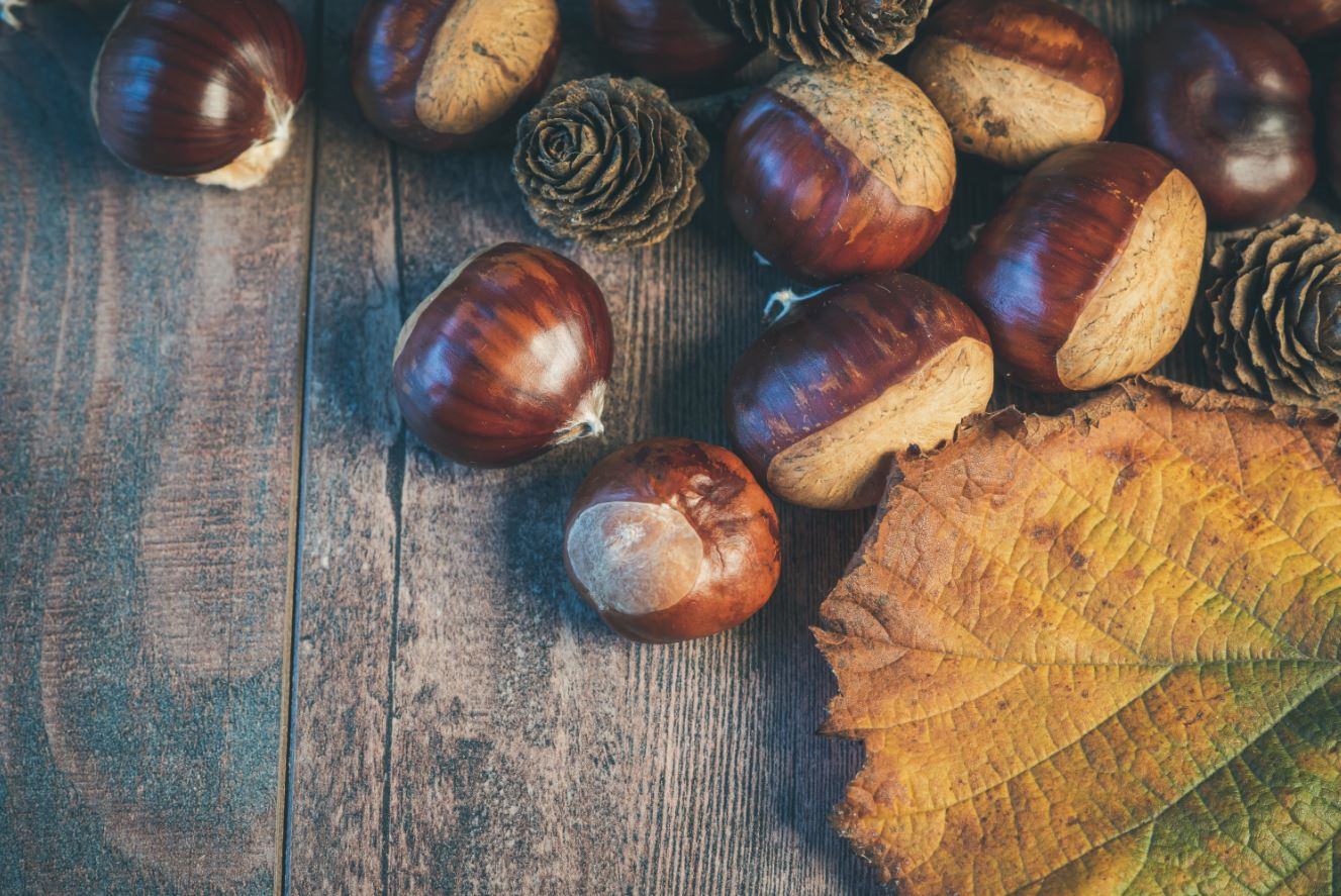 healthy Christmas foods chestnuts