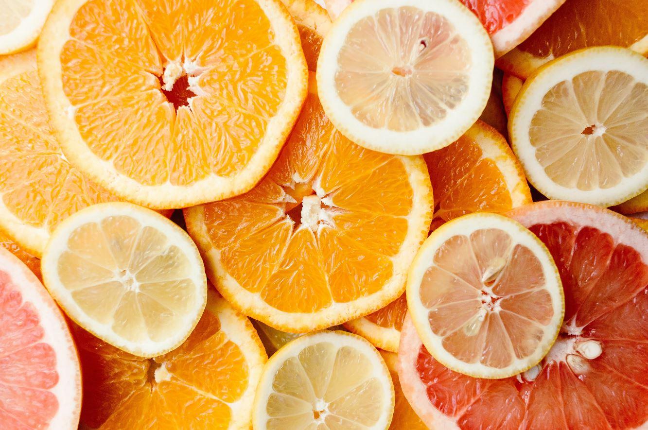 healthy Christmas foods oranges